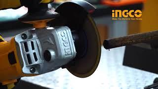 Угловая шлифовальная машина INGCO AG8508 от компании SKS-SHOP - интернет магазин ремонта и строительства в Республике Крым - видео