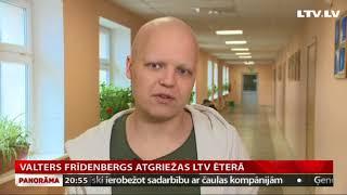 Valters Frīdenbergs atgriežas LTV ēterā