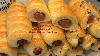Super Soft Bakery Style Hot Dog Buns _ Banh Mi Hot Dog