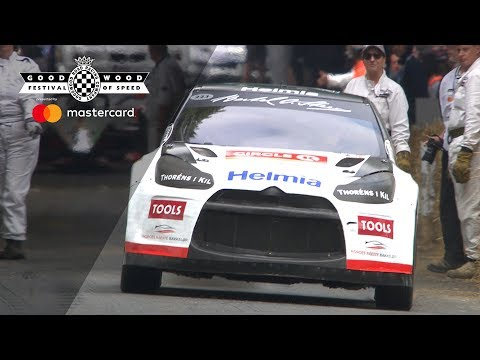 Oliver Solberg: Craziest FOS shootout run ever in DS 3 WRX