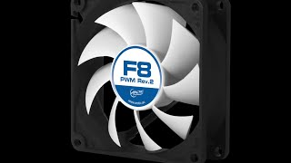 Unboxing & detailed review of ARCTIC F8 Rev.2 High Performance PWM Case Fan