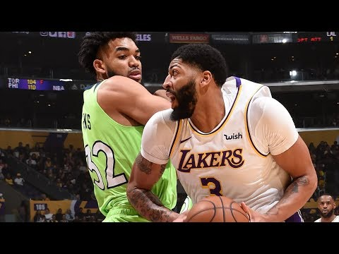 LeBron Poster! Anthony Davis 50 Points vs T-Wolves! 2019-20 NBA Season