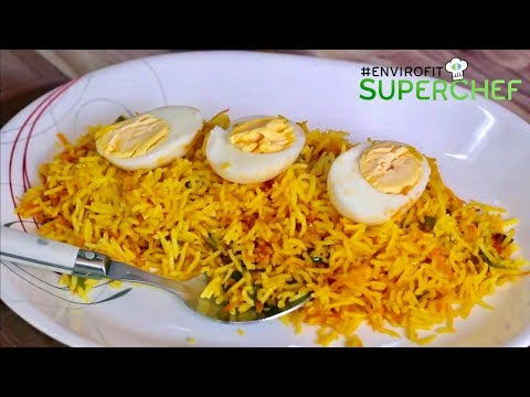 How to make egg and carrot fried rice | Chef Ali Mandhry