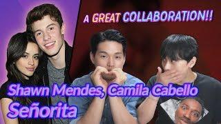K Pop Artist Reaction] Shawn Mendes, Camila Cabello   Señorita