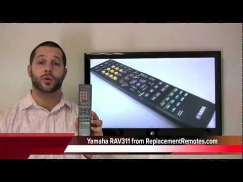 YAMAHA RAV311 Audio/Video Receiver Remote Control