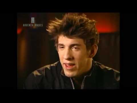 2003 Michael Phelps Interview about Mark Spitz