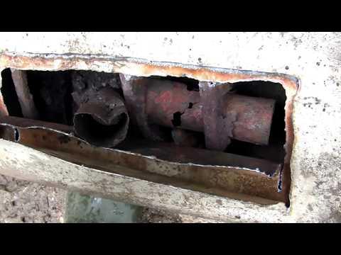 Ремонт выхлопной трубы автомобиля и глушителя своими руками