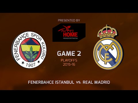 Highlights: Playoffs Game 2, Fenerbahce Istanbul 100-78 Real Madrid