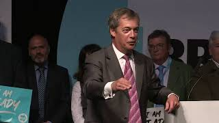 Brexit Party Conference Tour - We Are Ready Exeter