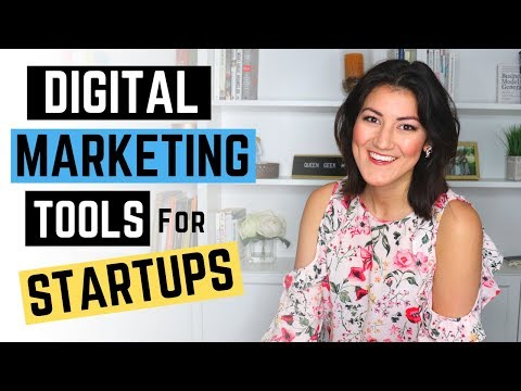 TOP 5 Digital Marketing Tools for Startups (INCREASE Traffic to your WEBSITE)