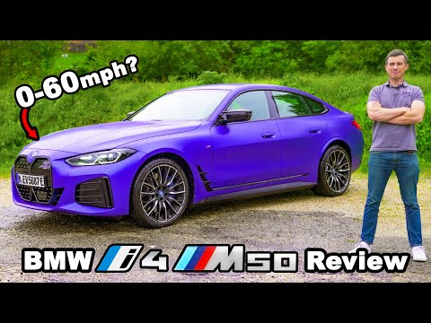 BMW i4 M50 review - quicker 0-60mph than an M3?