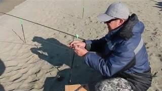 Рыбалка на море с берега в приморье
