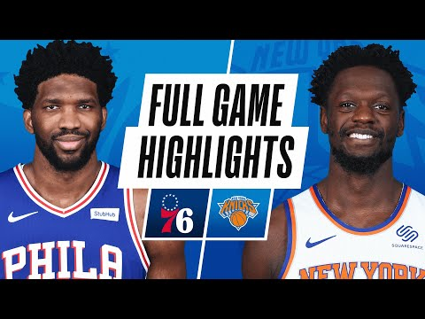 76ERS at KNICKS | FULL GAME HIGHLIGHTS | December 26, 2020