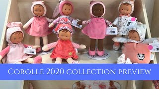 New!  Corolle 2020 collection Preview At Toy Fair