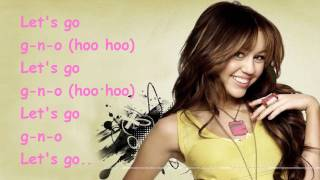 G.N.O. girl's night out - Miley Cyrus - karaoke Official (oficial)