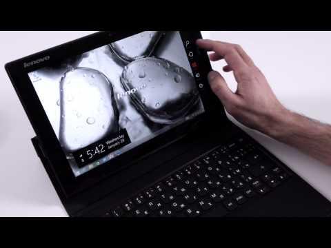 Lenovo MIIX 3 10 (10.1 inch) tablet - video review - laptopmedia.com (English)