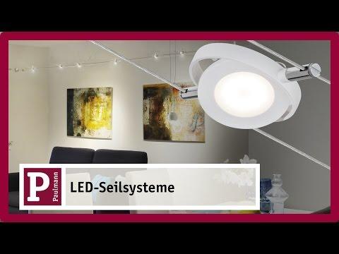 LED Seilsystem – flexibel für Ihre Räume