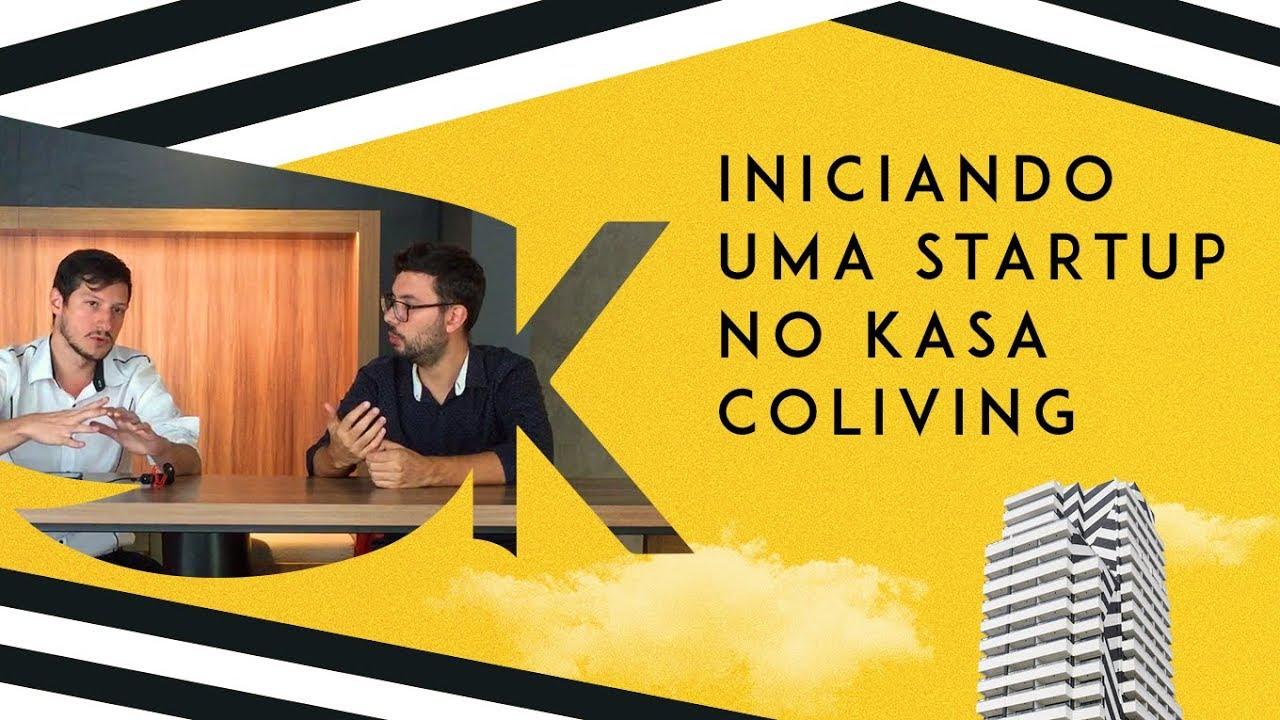 Startup no KASA Coliving – Qualidade de vida e trabalho