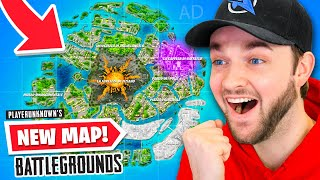 Playing the *NEW* Battle Royale MAP! (Ali-A Plays PUBG)