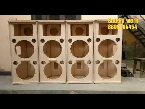 Jbl SRX 725 Type Russian Birch Plywood Made Speaker Cabinet
