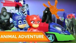 Animal Adventure Trouble! 💜 PJ Masks Creations | Play with PJ Masks