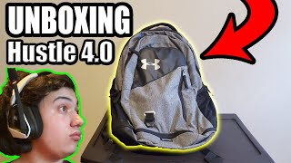 Unboxing Under Armour Hustle 4.0 Backpack + First Look!