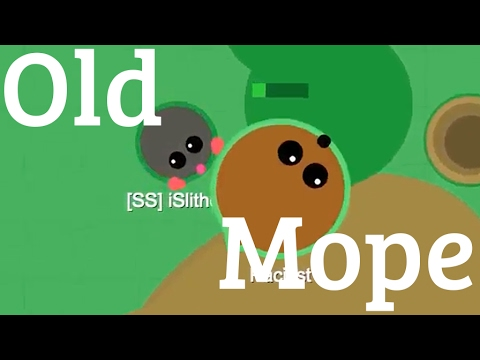 Old Mope.io Video 1