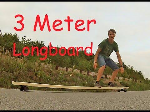 3 Meter Tandem Longboard!