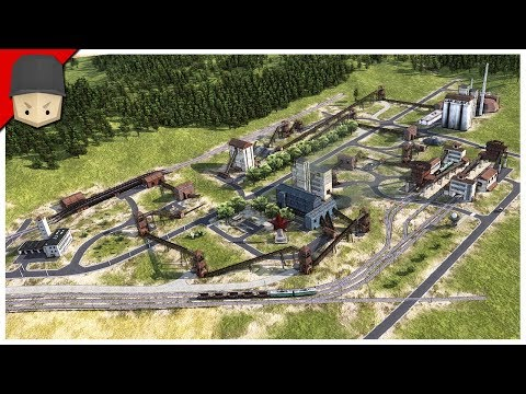 THE INDUSTRIAL AREA! – Workers & Resources: Soviet Republic (CITY BUILDER TYCOON GAME)