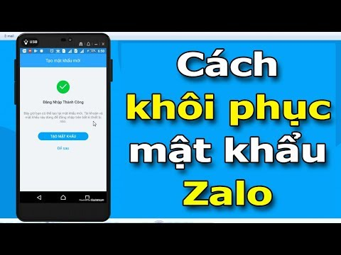Hướng dẫn khắc phục khi quên mật khẩu đăng nhập Zalo trên điện thoại