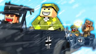 THE SNOW CHASE! - Minecraft WW2 - S5E21 (Heroes & Generals)
