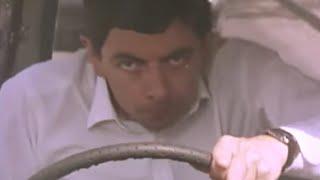Car Stunts! | Running Late | Official Mr. Bean