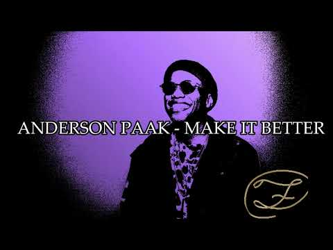 Anderson Paak - Make It Better Instrumental (Remake By YBF Productions)