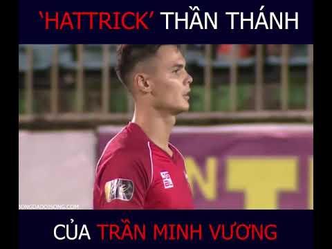'Hattrick' của Minh Vương vào lưới Hải Phòng (Vòng 24 V-League 2019)