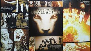 Graphic Novel Flip Through - The Book Of Revelation: A Graphic Novel (very Creepy)