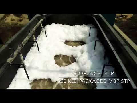 GE - SUEZ Hollow Fiber Membrane - MBR STP