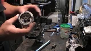 Аэратор Gardena ES500 ремонт редуктора