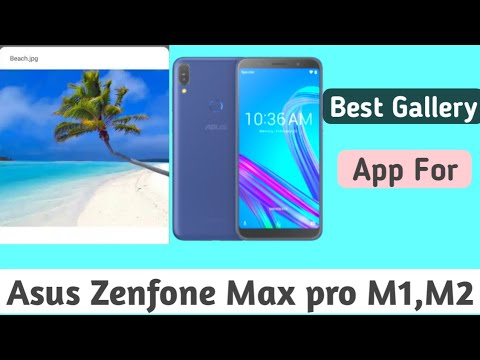 How to install official gallery on Asus Zenfone max pro m1 ? To