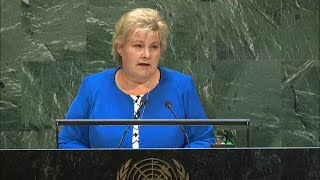 🇳🇴 Norway - Prime Minister Addresses General Debate, 74th Session