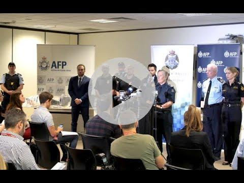 Australian investigation leads to biggest ever U.S. meth seizure