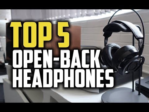 Best Open-Back Headphones In 2018 - Which Are The Best Open Back Headphones? Mp3