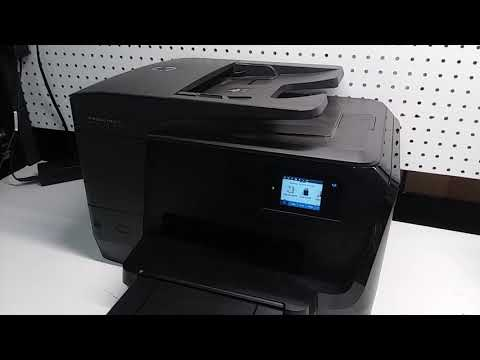 How to fix ADF Document Feeder problem on HP Officejet 8710