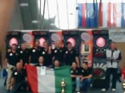 Freccette : ITALIA sul podio. Europeo Soft Dart EDF, Slovenia 2012