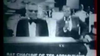 Ray Charles & Oscar Peterson Play A Blues Duet - Very Rare