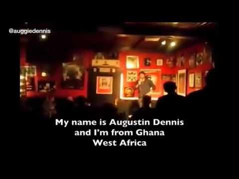Video: Augustin Dennis performs in Antwerp, Belgium