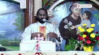 """CALL TO THE HIGHER LIFE"" Rev.Fr.Jaya Raju At Kanukamatha Church,Rentachinthala, India.01-11-16.HD"