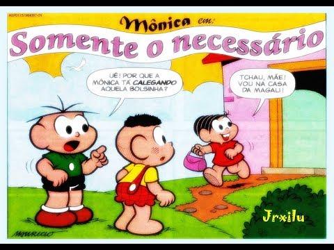 Mônica - Somente o necessário - gibis quadrinhos Turma da Mônica