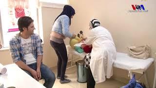 Suriyeli mültecilere özel sağlık merkezi