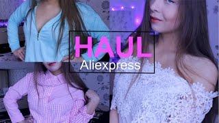 МНОГО одежды с Aliexpress/заказ из Китая/блузки/футболки