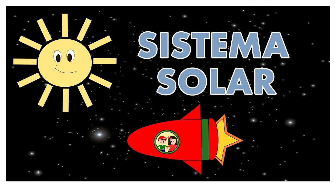 El Sistema Solar para niños - El Universo - Vídeos educativos para Niñosy Bebés - Paty y Poty